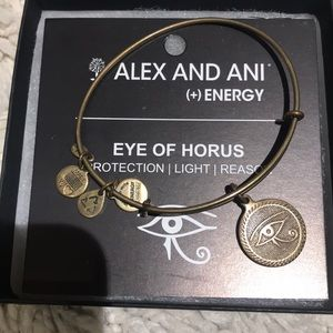 Alex & Ani eye of Horus bracelet